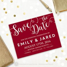 Printable Save the Date Card Wedding Save the Date by AmeliyCom https://www.etsy.com/listing/265847807/printable-save-the-date-card-wedding