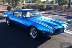 1970 PONTIAC FIREBIRD FORMULA 400 Maintenance/restoration of old/vintage vehicles: the material for new cogs/casters/gears/pads could be cast polyamide which I (Cast polyamide) can produce. My contact: tatjana.alic@windowslive.com