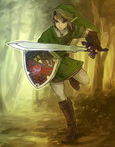 I like this pcture because I think the Legend of Zelda series are the best video games