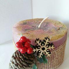 Il Natale di una candela.
