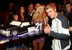 Justin Bieber's 21st Birthday Cake