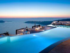 Hotel Grace in Santorini, Greece