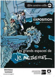 « Les Grands espaces de Jean-Claude Mézières » à Limoges… | BDZoom.com