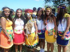 Umabo ...traditional zulu wedding..ladies dressed by @Zandis'okuhle Traditional Hire