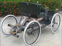 So You Want To Build A Quadricycle 1896 Ford Quadricycle