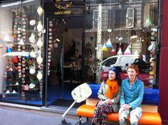 La boutique avec Sigolène Prébois et Catherine Levy, les 2 designers de Tsé & Tsé associées !