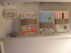 Hand made cards.  :) nice and simple this gives me more idease to make and sell.