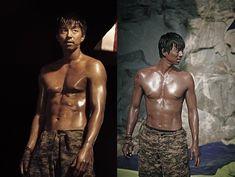 "Movie ""The Suspect"" Releases Topless Images of Gong Yoo Korean Men, Asian Men, Korean Celebrities, Korean Actors, Gong Yoo Shirtless, Train To Busan Movie, Goong Yoo, Goblin Gong Yoo, Yoo Gong"