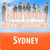 25 Sept - Free Speed Networking Sydney 7:00 PM  The Castlereagh Boutique Hotel, Level 3, 169 Castlereagh St, Sydney http://www.meetup.com/freespeednetworkingsydney/events/131915642/
