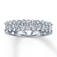 Kay - Diamond Ring 1 ct tw Round-cut 14K White Gold