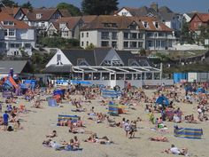 Gyllingvase Beach and Gylly Beach Cafe, Falmouth #falmouth #oyser
