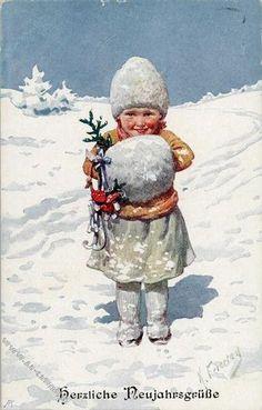 Мобильный LiveInternet Karl Feiertag(1874-1944) Зимние картинки | keb59 - Дневник елена_купцова |