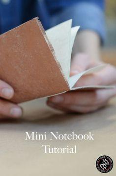 mini notebook pamphlet tutorial
