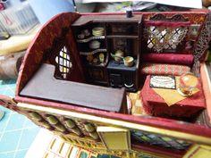 Gypsy Wagon Interior - theweetinker