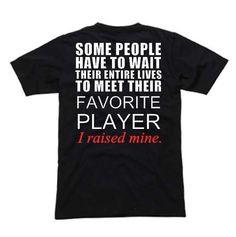 Parents Favorite Sports Player T-Shirt