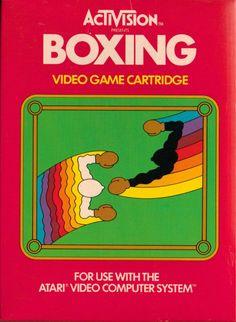 """Les """"Atari 2600 Rainbow Boxes"""" d'Activision - Boxing - 1980"""