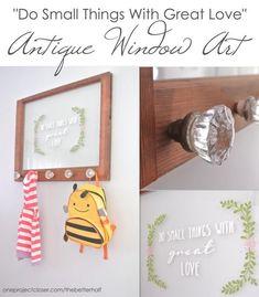 DIY Window Art using