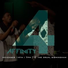 MafDotYou at Affinity 3 ...Who will be at Affinity 4? Find out Nov 14th @the_Drum ! #Affinity4 #GL360