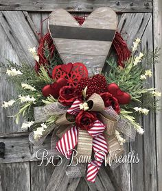 Valentine Wreath, Valentine Decor, Valentine Door, Love Wreath, Love Decor, Love, Cupid Wreath, Cupid Decor, Valentine Door Hanging, Heart Wreath, Heart Decor Tis the season to LOVE❤️ Well actually thats everyday and all year.... Love is the best gift of all! You can celebrate the