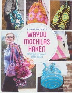 Wayuu mochilas haken Double Knitting Patterns, Tapestry Crochet Patterns, Crotchet Bags, Mochila Crochet, Knit Or Crochet, Crochet Fashion, Lana, Boho, Fabric