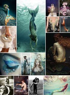 February Moodboard: Mermaids, Water Nymphs,
