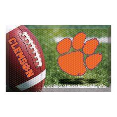 Clemson Tigers NCAA Scraper Doormat (19x30)