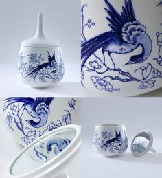 Young Delft blue: Bleu D1653