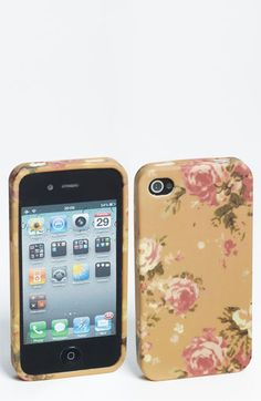 Design Lab 'Painterly Floral' iPhone 4 & 4S Case   Nordstrom
