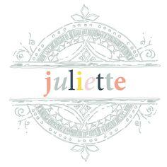 Juliette Logo! (Bakery)