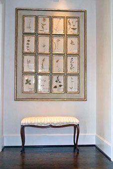 Design Entrée, Bench Covers, Room Decor, Wall Decor, Interior Decorating, Interior Design, Diy Canvas, Frames On Wall, Fabric In Frames