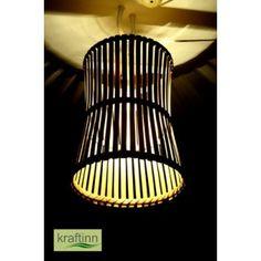 Hanging Stripes Lamp from KraftInn, $15.00