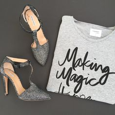 Making Magic Happen Tee http://shopsincerelyjules.com/collections/shop/products/making-magic-happen-tee