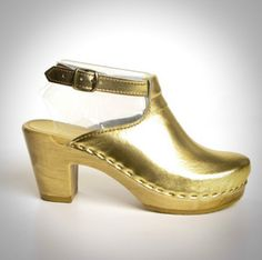 """Sven Clogs - Google+ Deal of the Day: $195.00 Halter Top Clogs - Sven Clogs  3"""" High Heel Clogs - Chose Any Color!! http://www.svensclogs.com/halter-top-clogs-peep-toe-sven-style-150-83.html"""