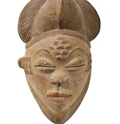 Africa | Panu Mask from Gabon.