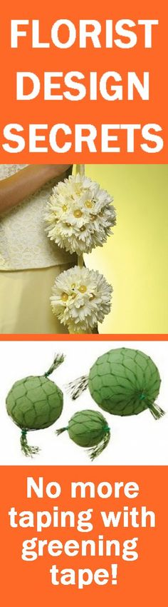 How to Make a Flower Sphere - How many flowers does it take?  Learn how to make bridal bouquets, corsages, boutonnieres, reception table centerpieces and church decorations. Buy wholesale fresh flowers and discount florist supplies.