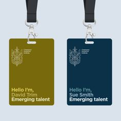 New Logo and Identity for Chartered Insurance Institute by Smith & Milton Identity Card Design, Collateral Design, Branding Design, Brand Identity, Web Design, Graphic Design Layouts, Graphic Design Inspiration, Name Tag Design, Badge Design