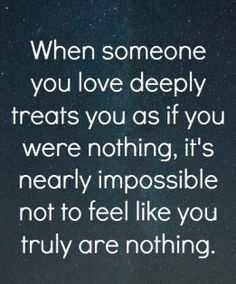 when someone you love deeply