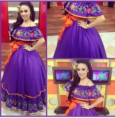 okay imagine this in white Mexican Costume, Mexican Outfit, Mexican Dresses, Mexican Party, Mexican Style, Quince Dresses, 15 Dresses, Wedding Dresses, Traditional Mexican Dress