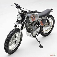 Racing Cafè: Yamaha SR 400 by Palhegyi Design