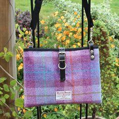 Harris Tweed iPad bag Checks and tartan by DawnColgan on Etsy
