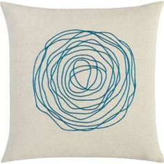 ebb swoon 16 pillow - ebb swoon pillow - #Sheilah'sPicks @Olioboard  #HandSketch #Trend