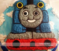 Thomas the Train Birthday Cake!