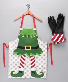 Elf apron for all the Christmas baking & candy making. Love it!