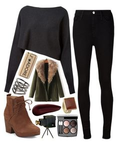 """""""Fall Is Here"""" by mydailypoly23 ❤ liked on Polyvore featuring MANGO, Crea Concept, AG Adriano Goldschmied, Eileen Fisher, JVL, Dorothy Perkins, Chanel, Universal Lighting and Decor and Surratt"""