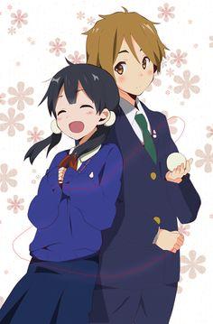 mochizou x tamako - Yahoo Image Search Results Tv Anime, Anime Nerd, Anime Love, Manga Anime, Kawaii Chibi, Kawaii Anime, Mochi, Manga Romance, Otaku