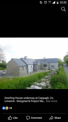 Cottage Style Homes, Cottage Design, House Designs Ireland, Banks House, Irish Cottage, Cottage Renovation, Extension Ideas, Home Projects, House Plans