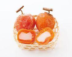 佐賀  名尾農園の 「ゆうじろうの凍熟柿 もち入り」