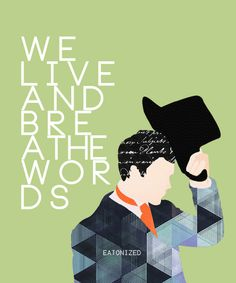 We live and breathe words - Will Herondale (TID)