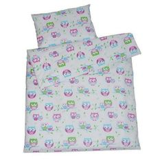 Gorgeous Cotton Cot duvet Covers for little girls in size 120 x 150 cm with a pillowcase of 40 cm x 60 cm. Modern and versatile, this owl design will suit any style. Cot Bed Duvet Cover, Cot Duvet, Cute Duvet Covers, 100 Cotton Duvet Covers, Duvet Cover Sets, Bed Sheets Online, Cheap Bed Sheets, Childrens Duvet Covers, Big Girl Rooms