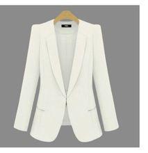 Primavera Negro mujeres abrigo chaqueta 2015 nuevas chaquetas blancas mujeres femeninas capas de las chaquetas de vestir exteriores adapte a las señoras chaqueta de abrigo de la mujer(China (Mainland))